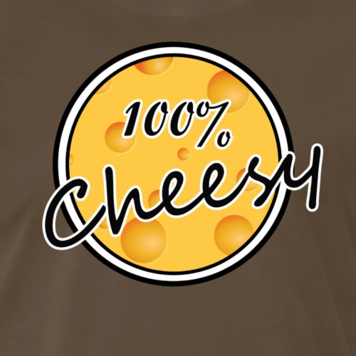 100% Cheesy - Men's Premium T-Shirt