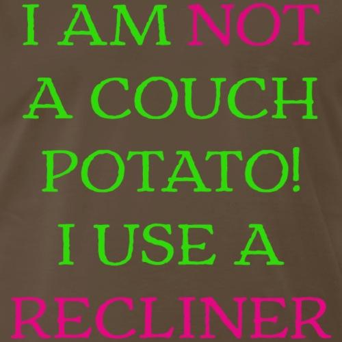Not a couch potato - Men's Premium T-Shirt