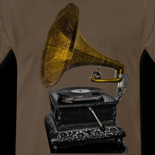 OG Gramophone | Vintage Vinyl - Men's Premium T-Shirt