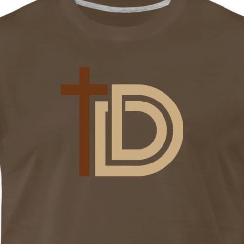 Discerning Dad Logo Only - Men's Premium T-Shirt