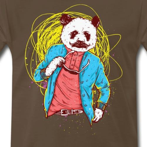 Panda Bear Movie Star - Men's Premium T-Shirt