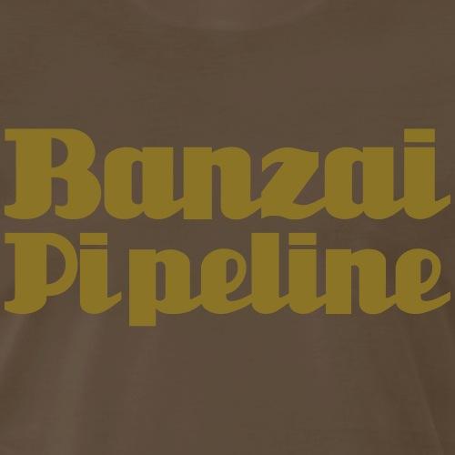 The Legendary Banzai Pipeline - North Shore - Oahu - Men's Premium T-Shirt