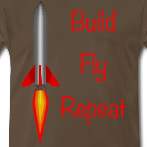 Build Fly Repeat - Men's Premium T-Shirt