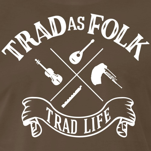Trad as folk 2 - Men's Premium T-Shirt