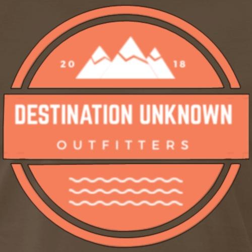 Destination Unknown Badge 2 - Men's Premium T-Shirt