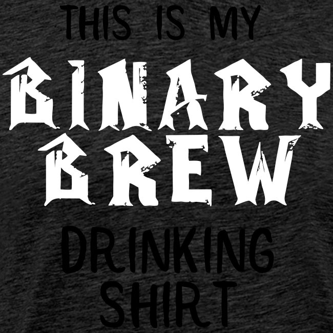 Binary Brew Shirt Attempt