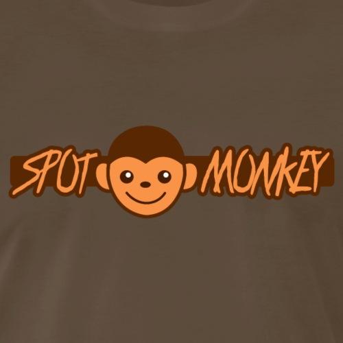 spot monkey - Men's Premium T-Shirt