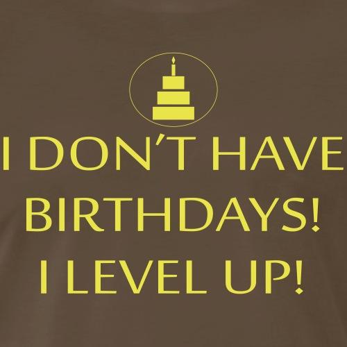 Level Up - Men's Premium T-Shirt