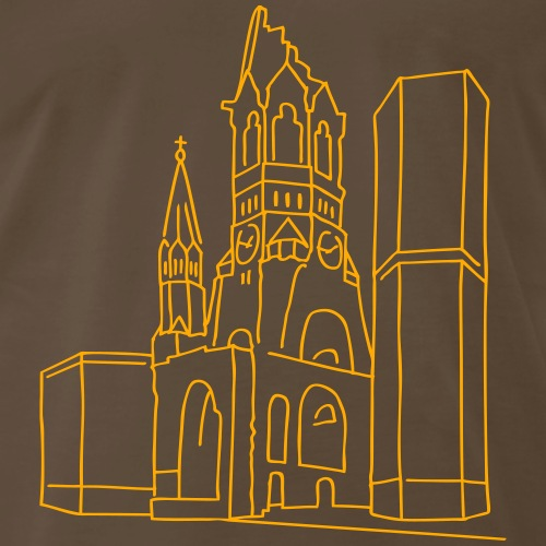 Memorial Church Berlin - Men's Premium T-Shirt