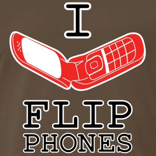 Flip Phone Lover - Men's Premium T-Shirt