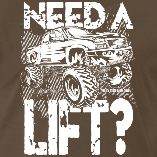 Truck Need a Lift - Men's Premium T-Shirt