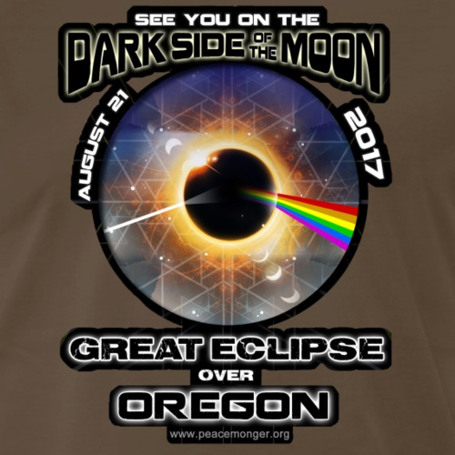 Oregon Dark Side of the Moon Eclipse Shirt - Men's Premium T-Shirt