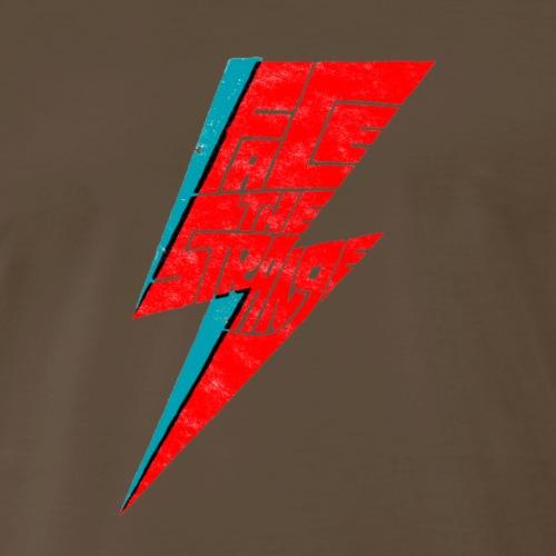 bowie face the strange - Men's Premium T-Shirt