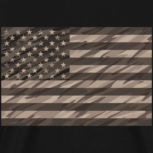 desert cammo flag t