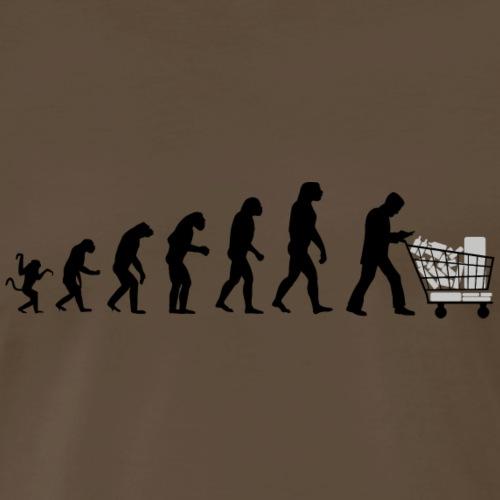 Evolution of man : just a consumer ! I - Men's Premium T-Shirt