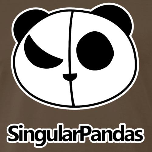 SingularPandas Logo - Men's Premium T-Shirt