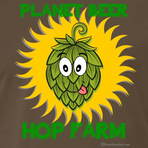 Planet Beer Hop Farm - Men's Premium T-Shirt