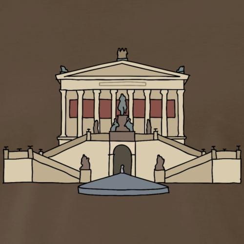 National Gallery BERLIN - Men's Premium T-Shirt