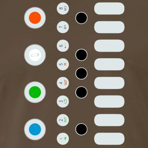 Big Smol Synth - Men's Premium T-Shirt
