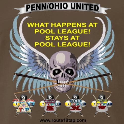 What Happens At Pool League Stays At Pool League - Men's Premium T-Shirt