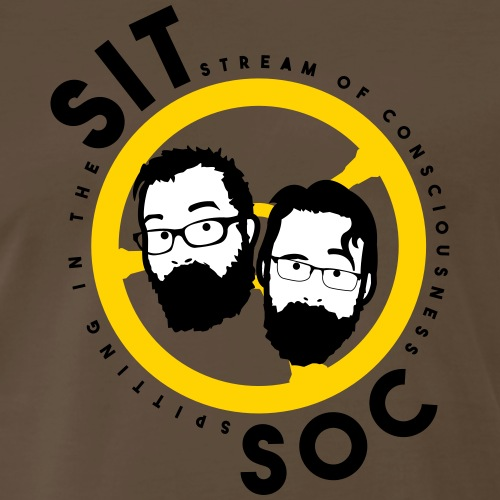 SitSoc - Men's Premium T-Shirt