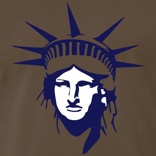 Lady Liberty - Men's Premium T-Shirt