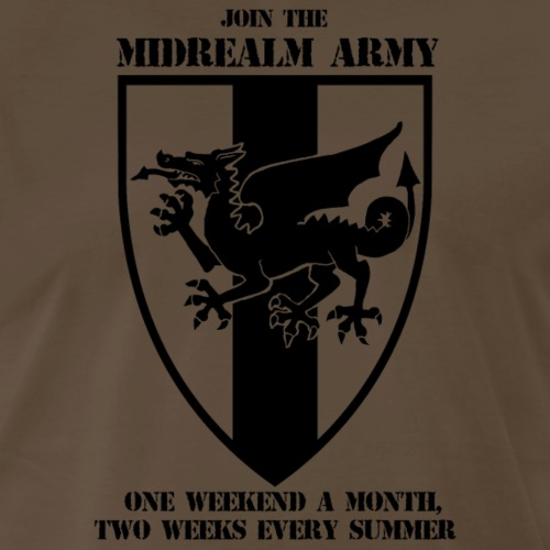 Join The Midrealm Army! - Men's Premium T-Shirt