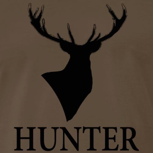 Red Stag Hunter - Men's Premium T-Shirt