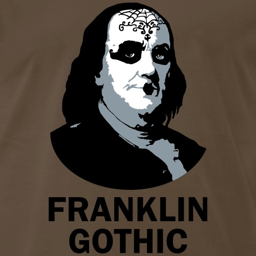 Franklin Gothic - Men's Premium T-Shirt