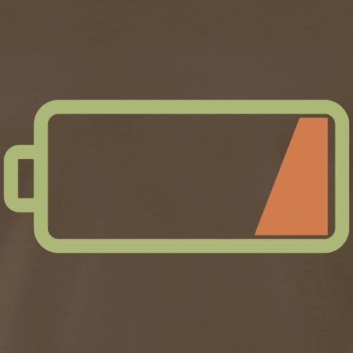 Silicon Valley - Low Battery - Men's Premium T-Shirt