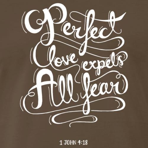 1 John 4:18 - Men's Premium T-Shirt