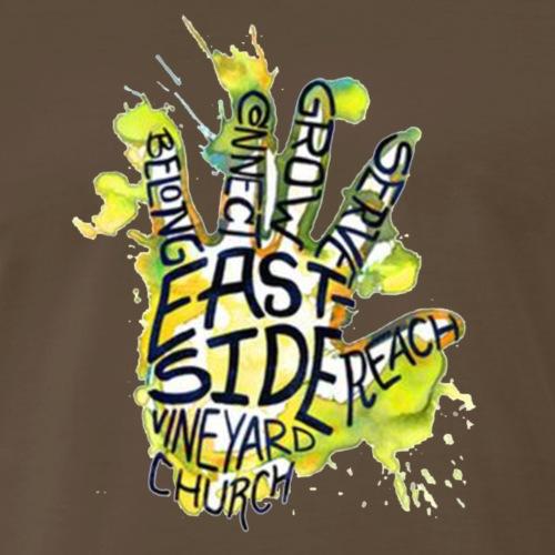 EDM STYLE 5 FINGER DESIGN - Men's Premium T-Shirt