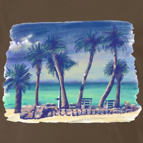 Oasis beach - Men's Premium T-Shirt