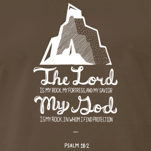 Psalm 18:2 - Men's Premium T-Shirt