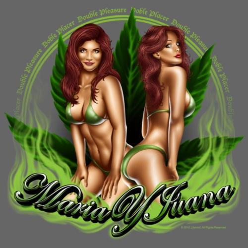 Maria y Juana by RollinLow - Men's Premium T-Shirt