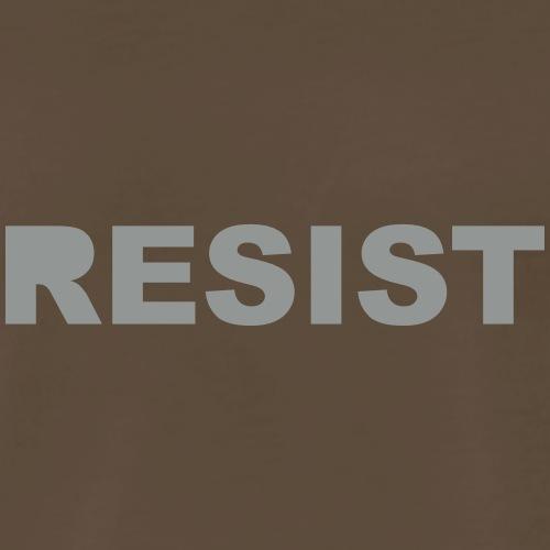 RESIST : solid - Men's Premium T-Shirt