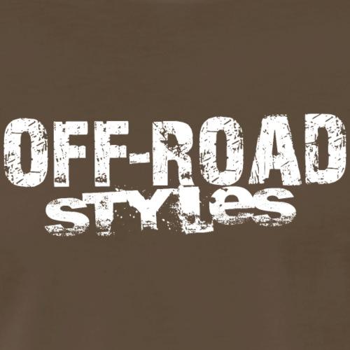 Paddle Quad ATV Skully T-Shirts - Men's Premium T-Shirt