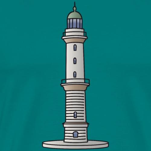 Lighthouse Warnemünde Rostock - Men's Premium T-Shirt