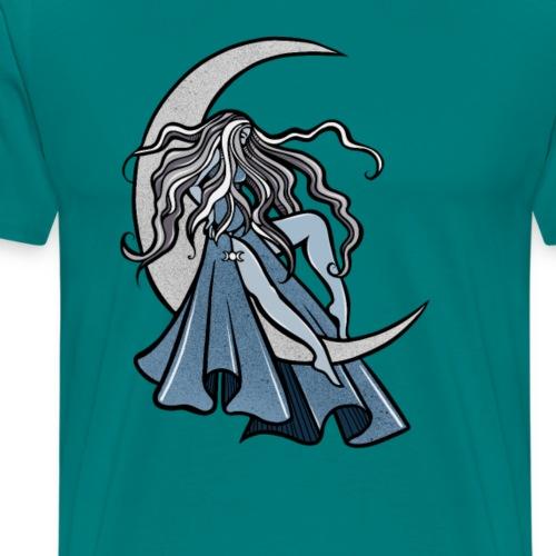 Moon Goddess - Men's Premium T-Shirt