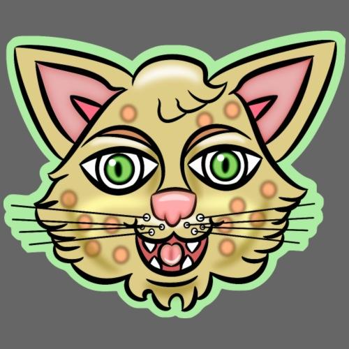 Happy Cat Gold - Men's Premium T-Shirt