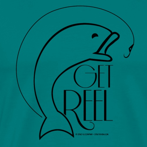 Get Reel - Men's Premium T-Shirt
