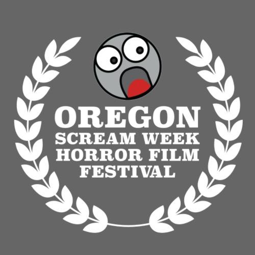 Oregon Scream Week Horror Film Festival White Logo - Men's Premium T-Shirt
