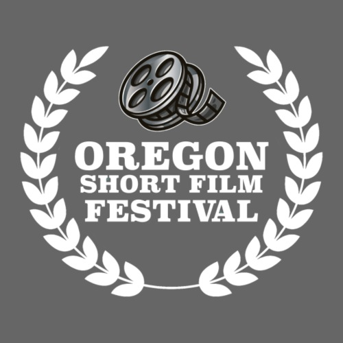 Oregon Short Film Festival White Logo - Men's Premium T-Shirt