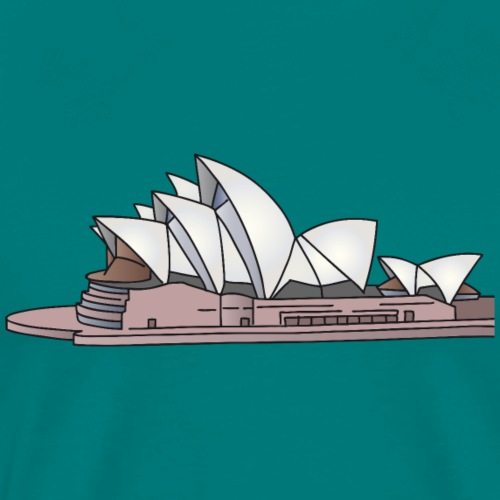 Sydney Opera House - Men's Premium T-Shirt