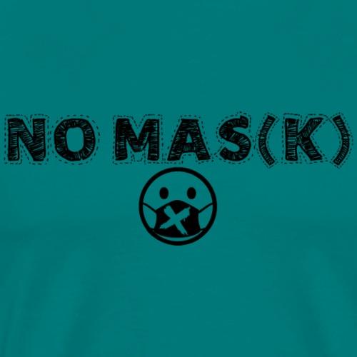 NO MAS(K) - Men's Premium T-Shirt