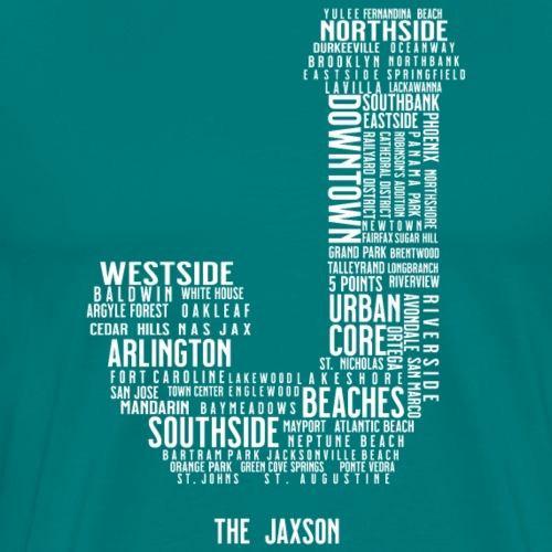 Jax Neighborhoods - Men's Premium T-Shirt