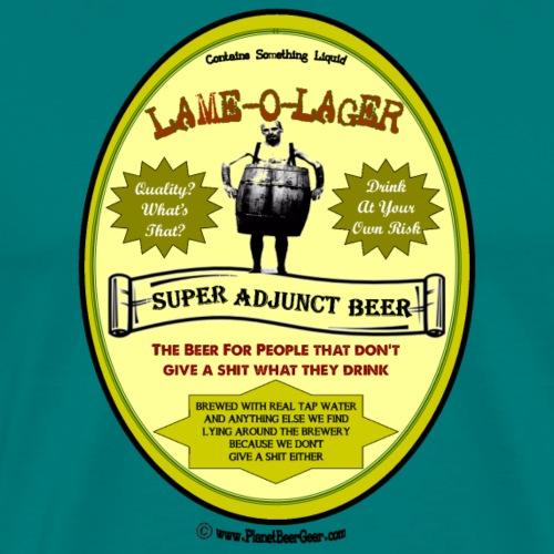 Lame-O-Lager - Men's Premium T-Shirt