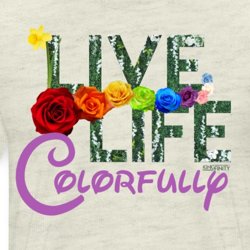 Live Life Colorfully - Men's Premium T-Shirt