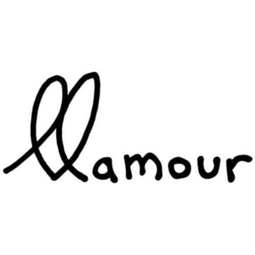 clean llamour logo - Men's Premium T-Shirt