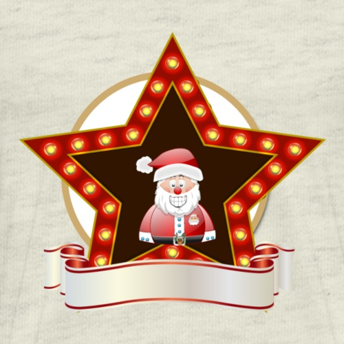 Christmas Santa Star - Men's Premium T-Shirt